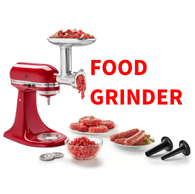 Metal Food Grinder by KitchenAid